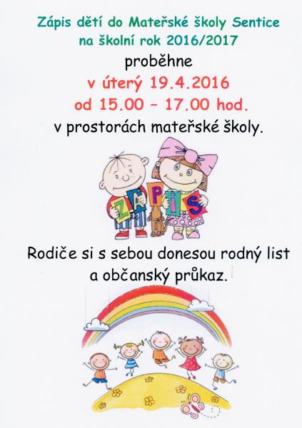 PozvánkaZápisMŠ2016