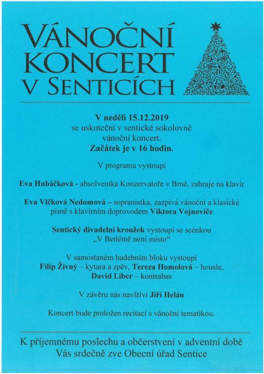 Pozvánka na koncert 2019
